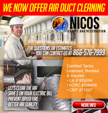 DUCT CLEANING ad